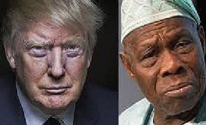 Trump & Obasanjo