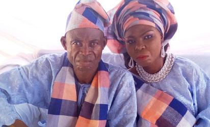 Mr. and Mrs Paul Kadiri