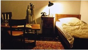 Replica of Hitler's bunker