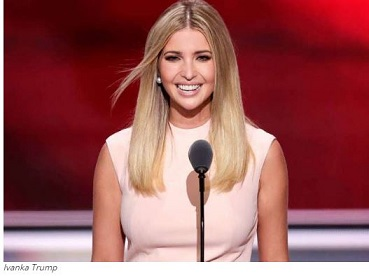 Ivanka Trump begs Americans  to give her dad a chance