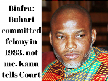 Biafra: Court to rule on Kanu's fresh bail application April 25