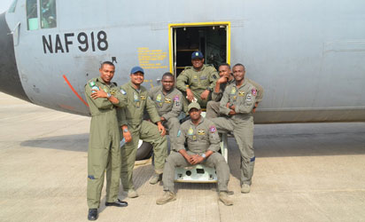 NAF deploys air assets, personnel to Kafanchan to maintain peace