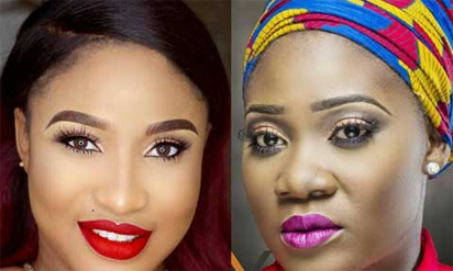 Four-year-old insult : Please forgive me, Tonto Dikeh begs Mercy Johnson