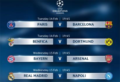 Ucl Fixtures Today