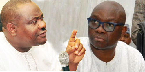 Ikoyigate: Invite Wike , Fayose, Fani-Kayode for questioning, group tells EFCC, IGP