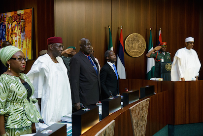 Buhari President absent as Osinbajo presides over FEC meeting