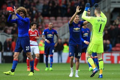 Mourinho salutes gritty United