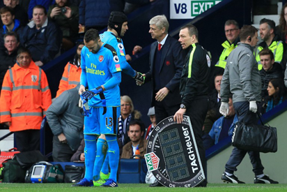 Arsenal hit by Cech injury blow