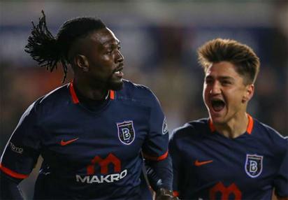 Adebayor scores hat-trick in Turkey