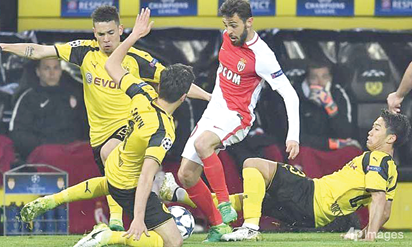 Monaco eye history as Dortmund risk elimination