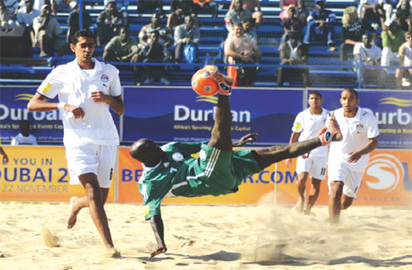 Sand Super Eagles lose Beach Soccer World Cup opener to Italy