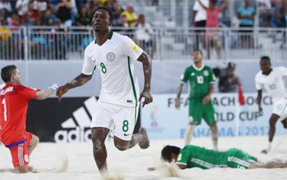 FIFA Beach Soccer World Cup: Sand Eagles return to winning ways