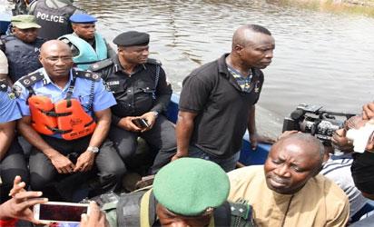 Photos Lagos Police Demolishes Criminal Hideouts In