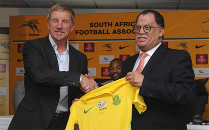 New Bafana coach Baxter signs five-year deal and outlines vision