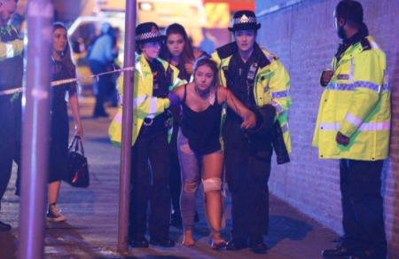 Man With Knife Detained in Birmingham During Vigil for Manchester Attack Victims