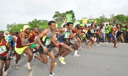 Kenyan athletes lead Okpekpe International 10km Road Race