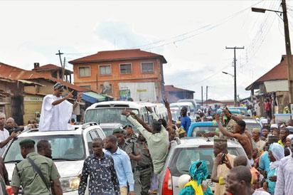 Photos: Thousands of Muslim faithful join Aregbesola to celebrates Eid-El-Fitr