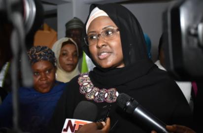 Why my husband is committed to youths development …. – Aisha Buhari