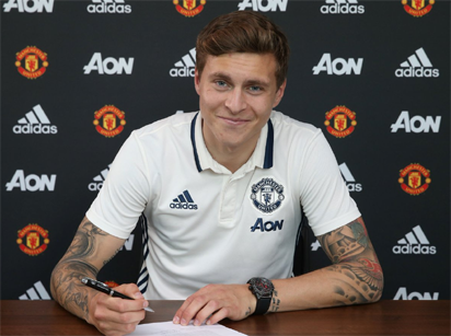 Man United reach agreement to sign Benfica defender Lindelof