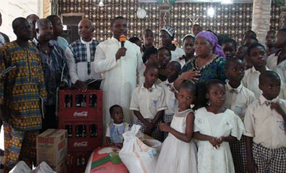 Father's Day with village orphans