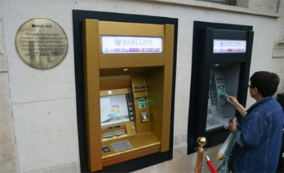 World's first ATM marks 50th 'Birthday'