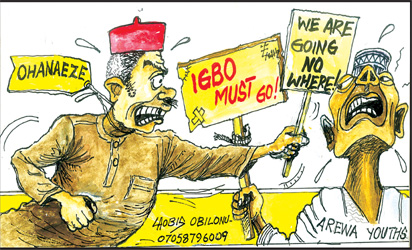 Quit notice: Return in August, MASSOB directs Igbo in the North