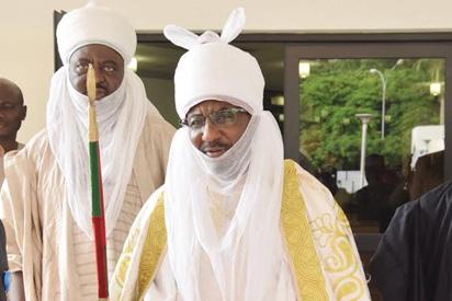 Osinbajo meets Emir of Kano behind closed doors
