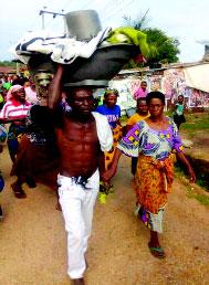 Ebonyi 70-yr-old widow fined 3 goats  for sleeping with 30-yr-old man