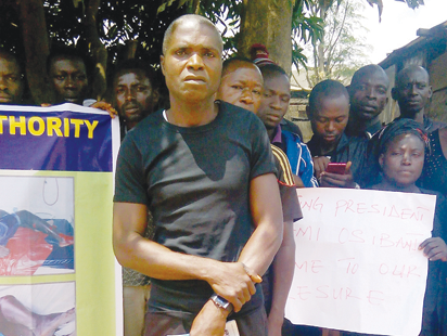 They murdered my son for a crime he didn't commit, bereaved father cries