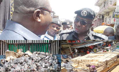 Police uncover under water tunnel for importation of fake products in Onitsha