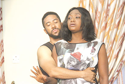 Lizzygold Onuwaje's second movie, 'Just a night', pitches Majid Michel against Femi Jacobs