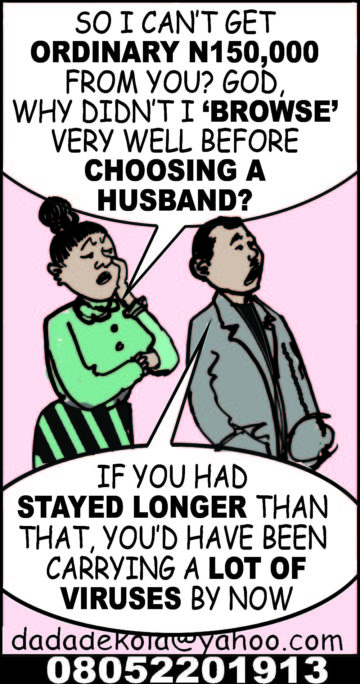 Cartoon: Mr & Mrs