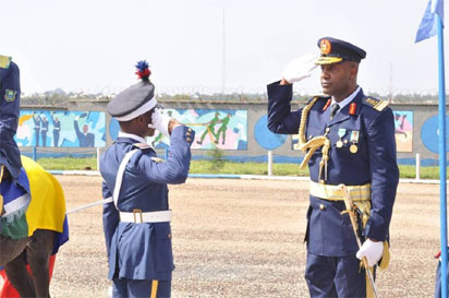 Photos: Uphold the ethics and traditions of NAF for a better Nigeria – Sadique Abubakar