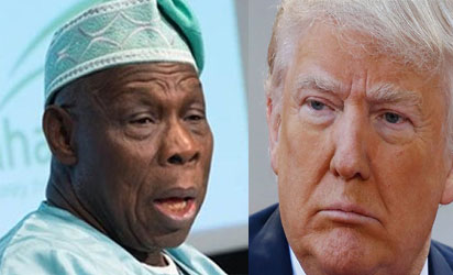 Obasanjo questions Americans' choice of Trump