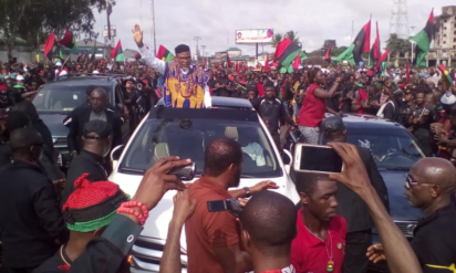 IPOB leader, Kanu says there will be no election in Imo, Biafra land in 2019