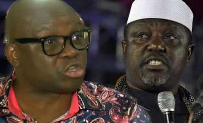 Okorocha, Fayose preach politics of inclusion