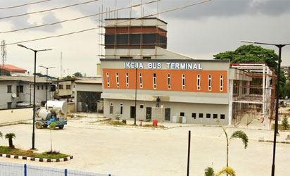 Photos: Newly built bus terminal by Lagos state govt.