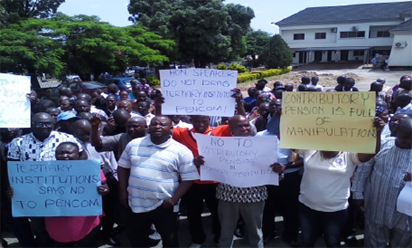 Plateau State tertiary institutions reject proposed new  pension scheme