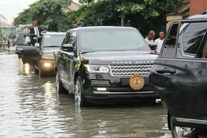 Photos: Come rain, come sun, we must do our job – Wike