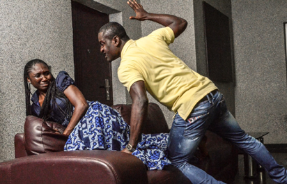 Man docked for alleged assault on wife with hot semovita