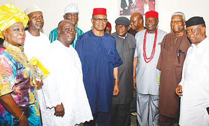 Southern leaders tackle Buhari, insist on restructuring
