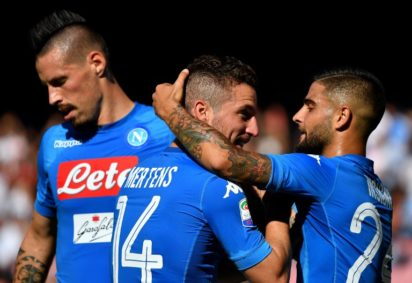 Europa League: Napoli tackle Inter in Serie A table topper after City setback