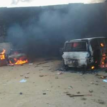 Over 30 lives perish, 25 police stations,