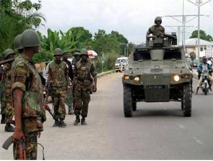 Gombe, Troops, kaduna