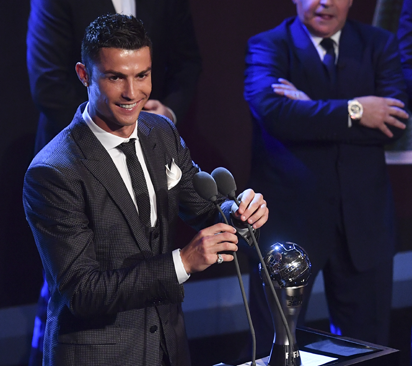 cristiano ronaldo best fifa mens player vanguard news nigeria
