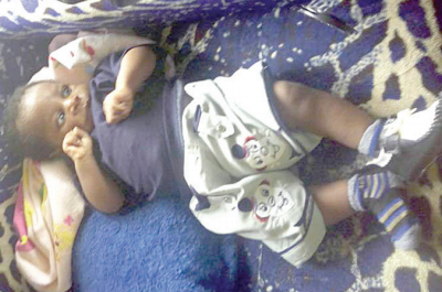 wonders of child's birth - Daddy Samuel wonder baby in Akure