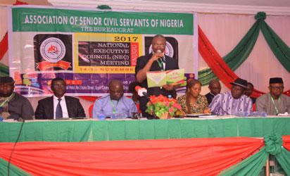 Senior civil servants elect Bola-Audu President