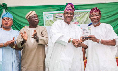 Aregbesola and others during the event