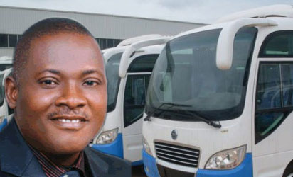 founder and chairman of Nigeria's automobile company, Innoson Motors, Innocent Chukwuma.