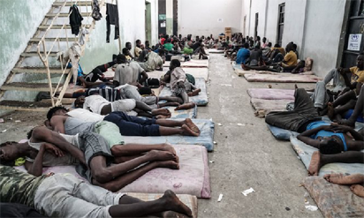 82 illegal immigrants rescued off Libyan coast – Navy